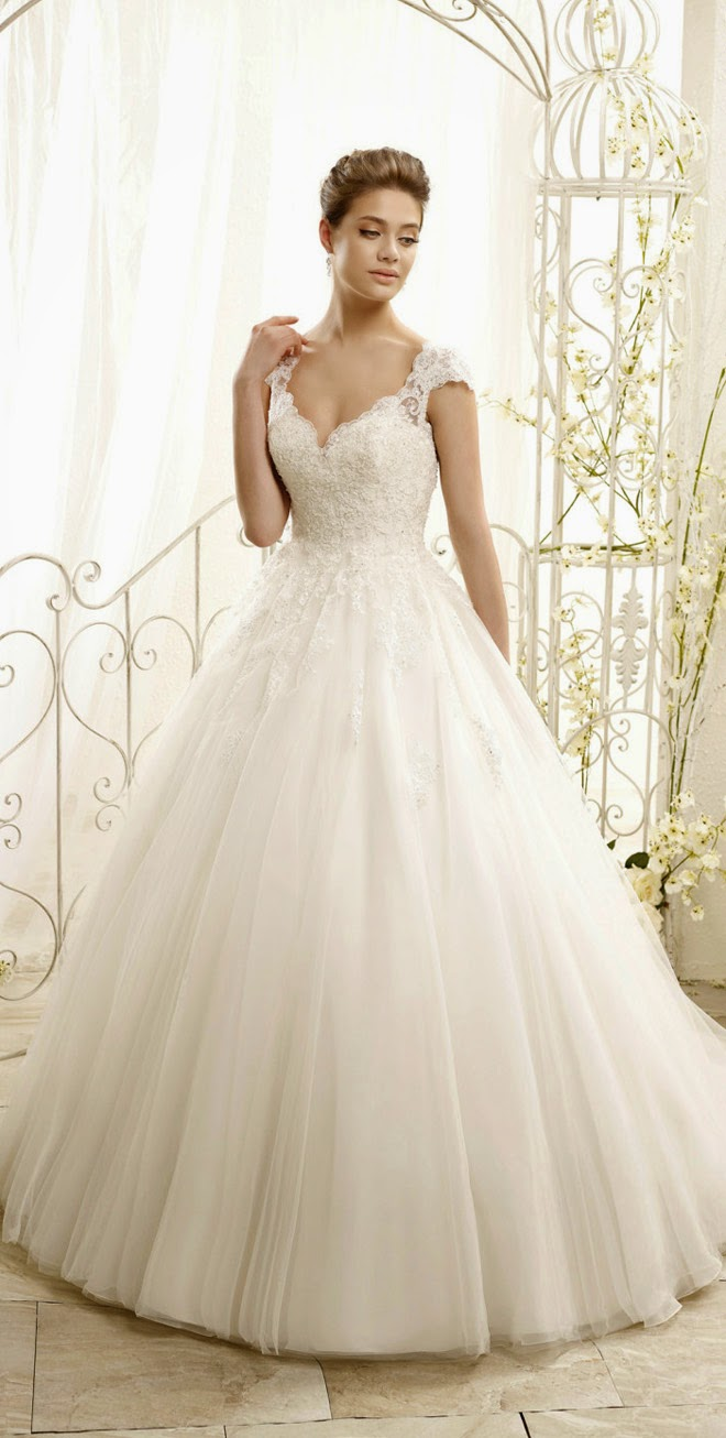 Adk by eddy k 2015 bridal collection belle the magazine for Eddy k wedding dresses