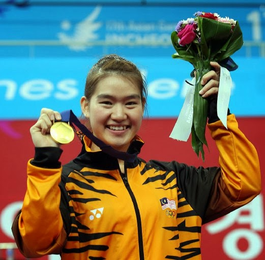 Tai Cheau Xuen Atlet Wushu Malaysia Emas Pertama Sukan Asia 2014