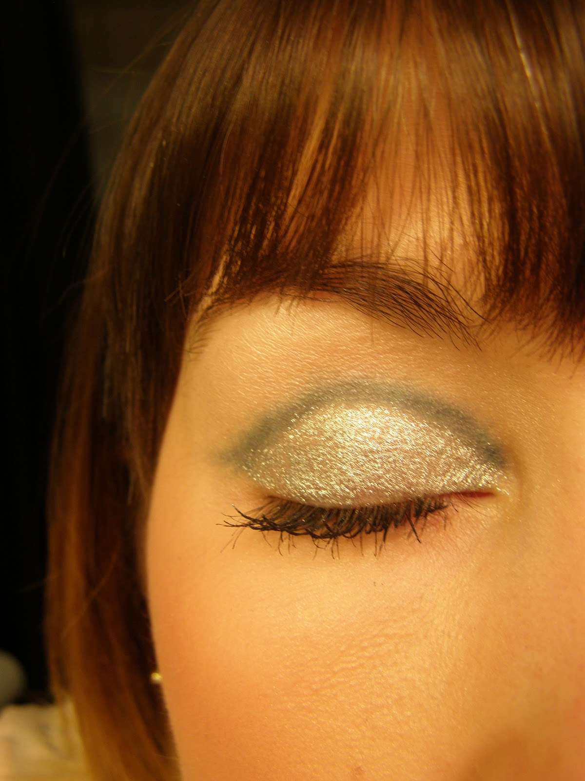 Eye candy glitter makeup