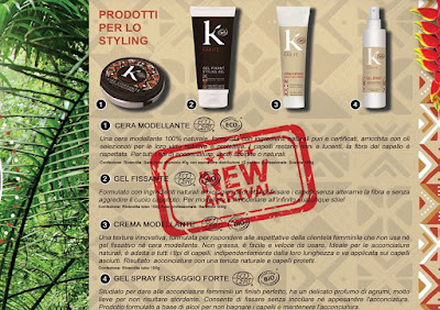 K pour Karité prodotti styling capelli