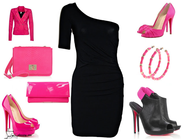 Fucsia Neon Fashion outfit