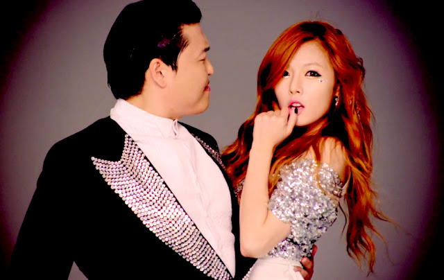 Psy Gangnam Style Hyuna Female Sexy Lady Parody Video