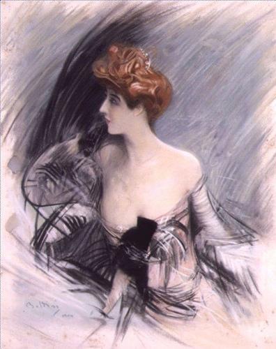 Sarah Bernardt portrait boldini