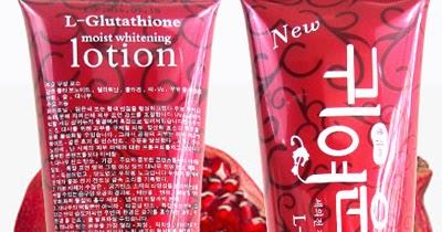 L Glutathion Red Pomegranate Pemutih Kulit Original