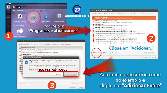 Como instalar o Kodi no Ubuntu