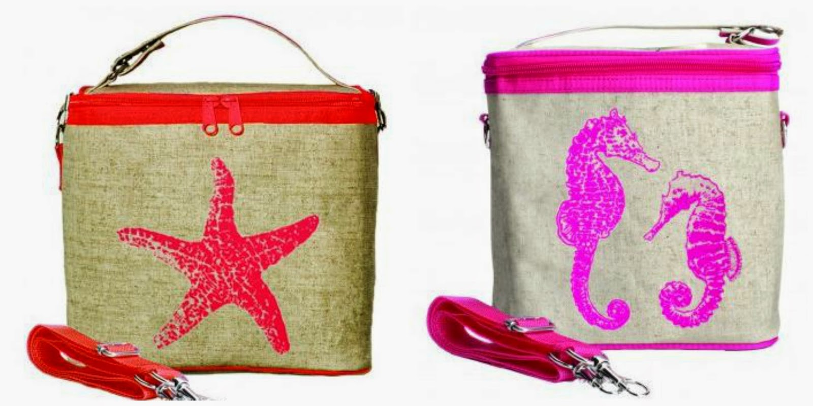 Nautical by Nature | SoYoung Nautical lunch boxes and cooler bags