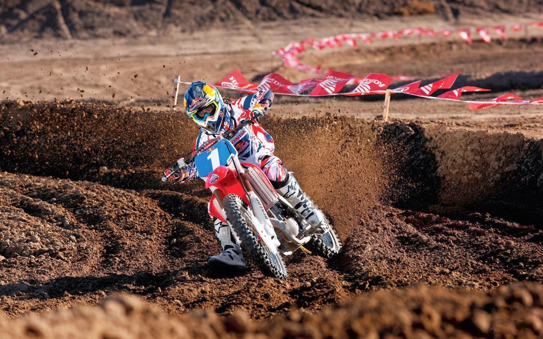 Honda Red Bull Racing Dirt Bike Images