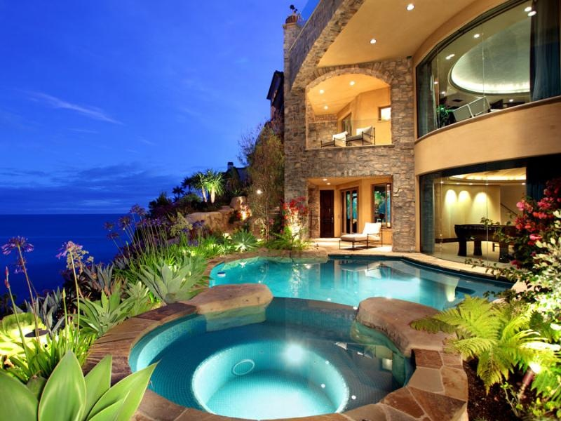 Beautiful luxury mansion in california most beautiful for A beautiful house image