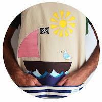 Delantal personalizado para navegantes