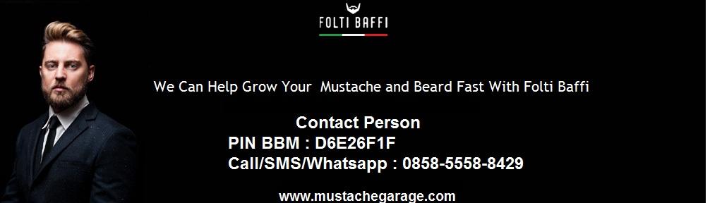 Folti Baffi Italian Gentleman Mustache