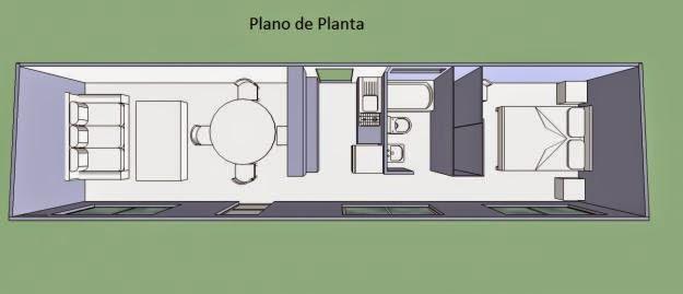Mi casa en un container o contenedor maritimo 2014 - Como hacer una casa con un contenedor maritimo ...