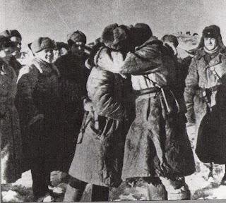 Beso del cerco de Stalingrado