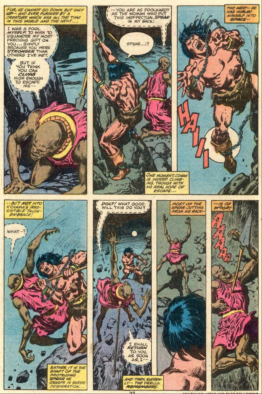 Conan the Barbarian (1970) Issue #103 #115 - English 16