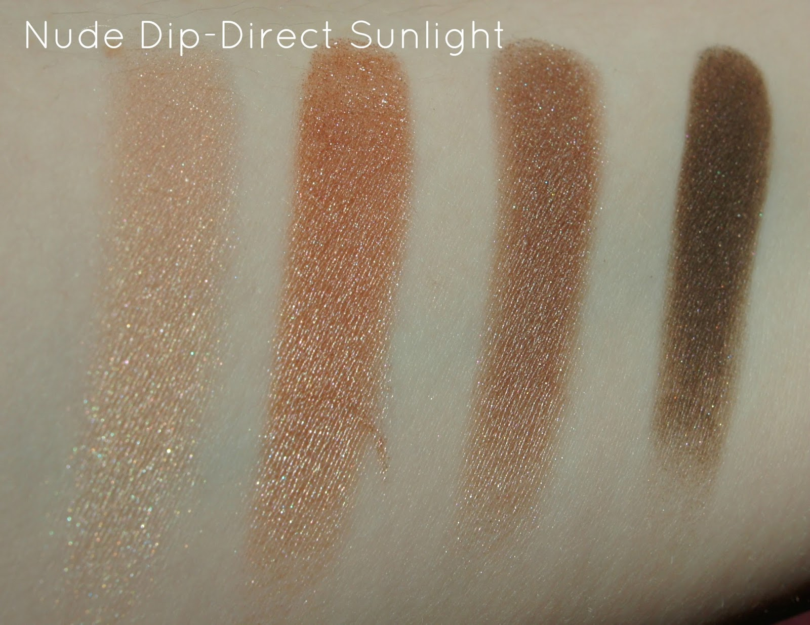 Tom Ford Fall 2014 Nude Dip swatches