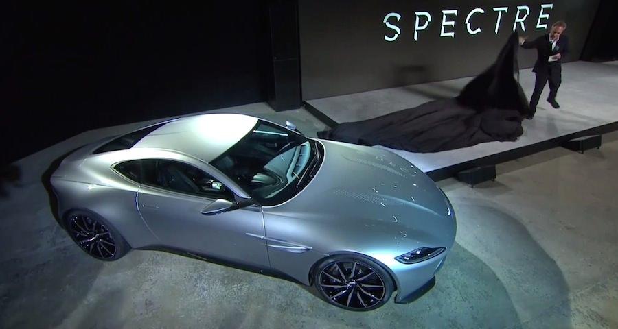 アストンマーチンが「007」の最新作に登場するボンドカー「DB10」を公開