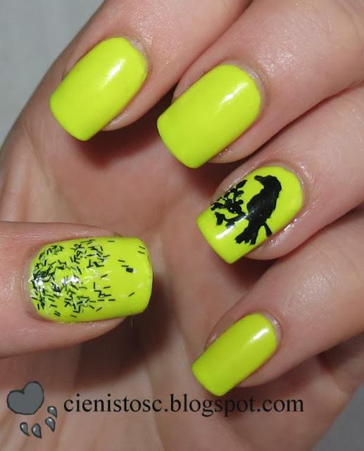 Neonowe z ptaszkiem