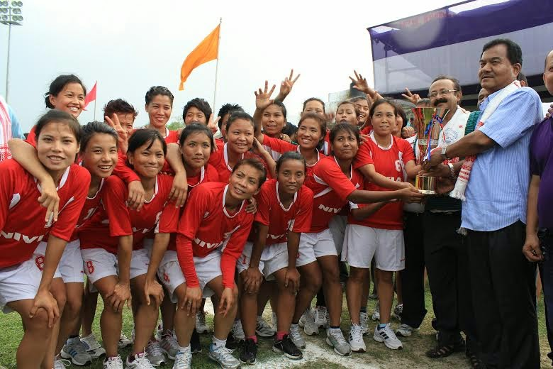 Manipur are the champions of  Women's National Championship