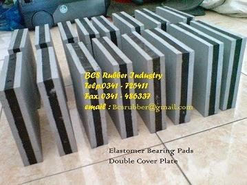 Seismic Rubber Bearing Pads / Karet Tahan Gempa