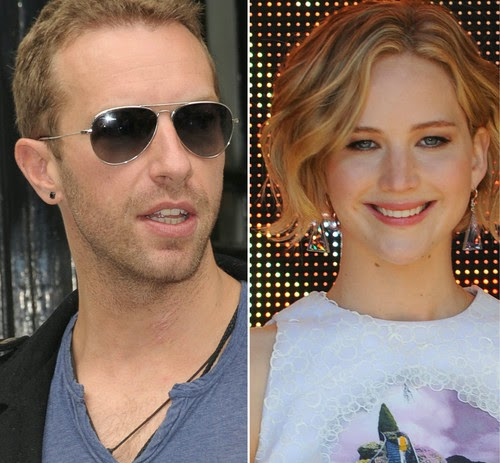 Finally! Jennifer Lawrence and Chris Martin show their love