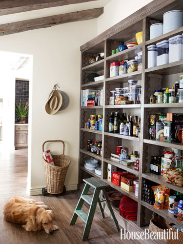 Open Shelf Pantry Storage: Beautiful Abodes: New Shelves In My Pantry
