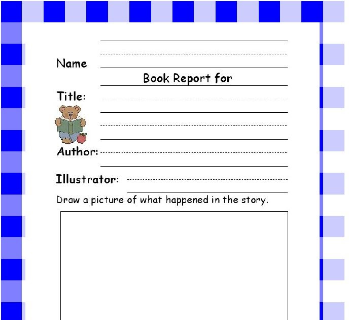 easy book report worksheet Book report alternative—8th grade in place of the traditional book report, you may present all of the required information on the front side of this handout in.