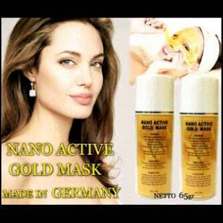Nano Active Gold Mask