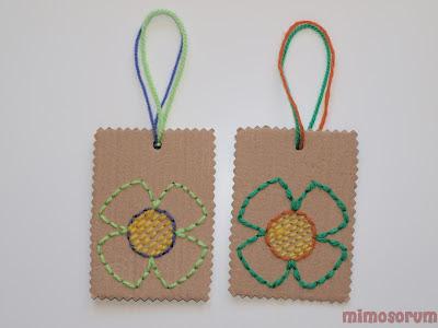 etiquetas de cartón.Mimosorum