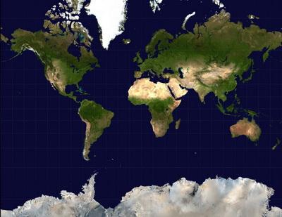Неточности меркаторовой проекции, Арно Петерс, Искажения географических карт