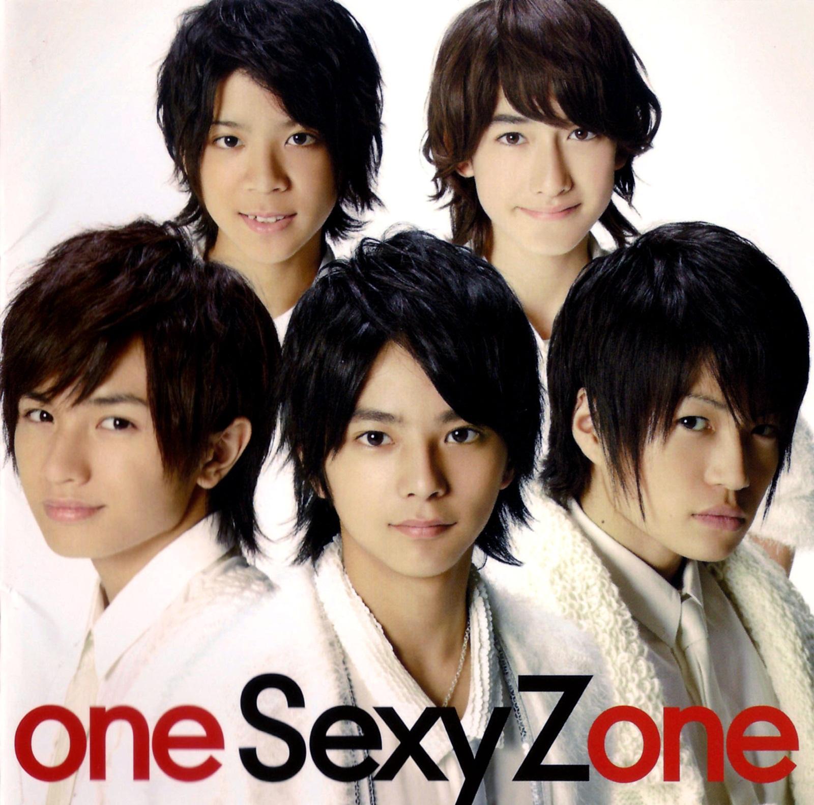 こちらを見つめるSexy Zone