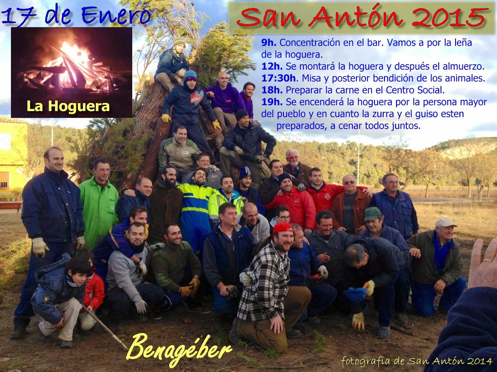 San Anton en Benageber 2014