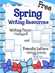 Spring Writing Resources ~ FREEBIE