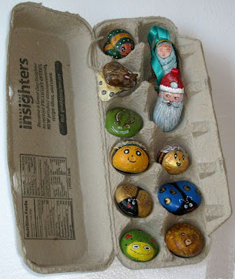 painted rocks, gifts, rock painting, Cindy Thomas