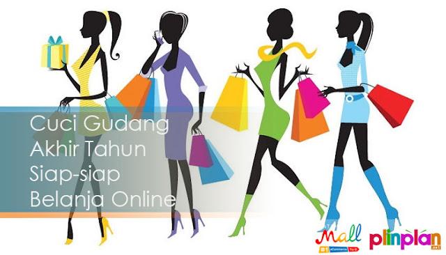 Cuci Gudang Akhir Tahun Siap-siap Belanja Online