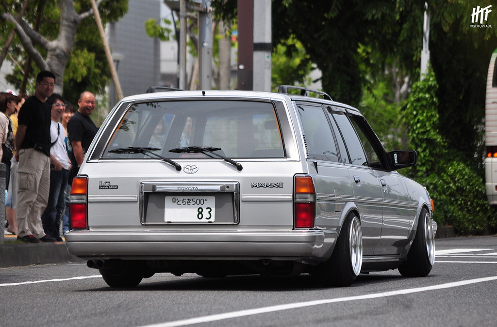 Toyota Mark II, X70, GX71, GX70G, twin turbo, GT, JDM, japoński sedan, hardtop, stary samochód, kultowy, klasyk, napęd na tył, sportowy, RWD, tuning, zdjęcia, fotki, 日本車, チューニングカー, シャコタン, クラシックカー, こくないせんようモデル, トヨタ・マークII