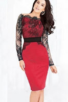 Rochie SplendorGlamy Red