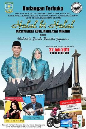 Undangan Terbuka bagi Masyarakat Jambi asal Minang