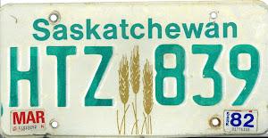 Saskatchewan-plåt
