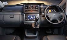 Interior dalam Mercedes-Benz Vito Sport X