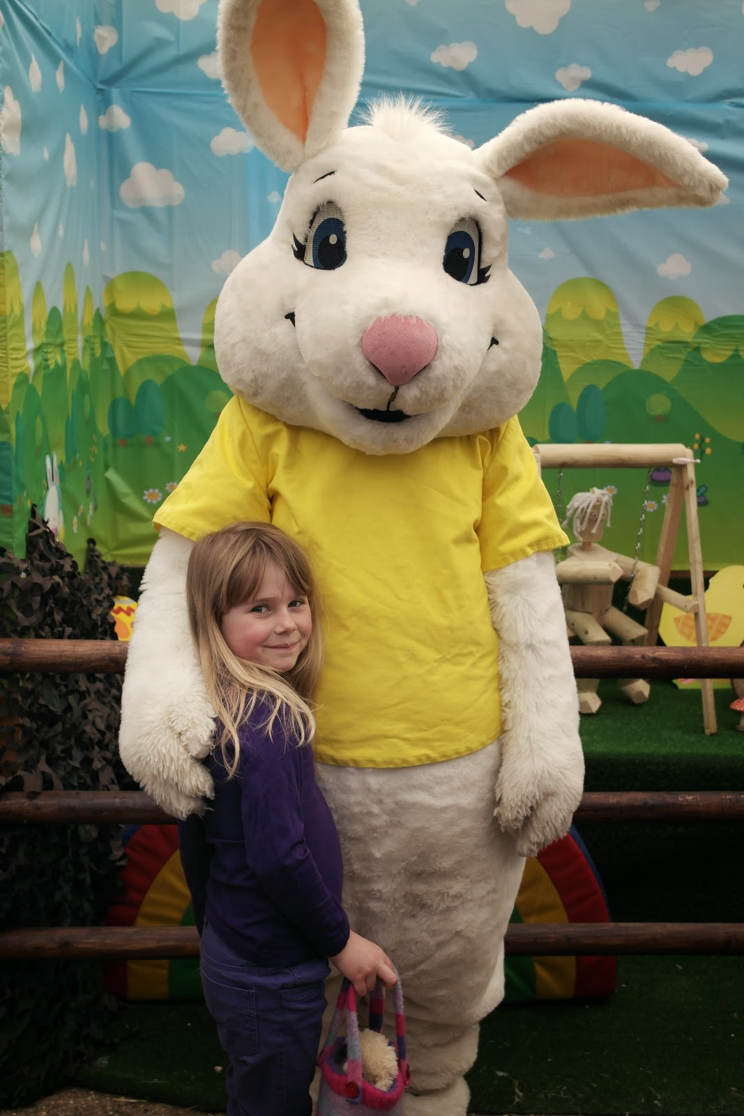 Easter Bunny Egg Hunt at Mead Open Farm