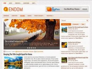 Endom - Free Wordpress Theme