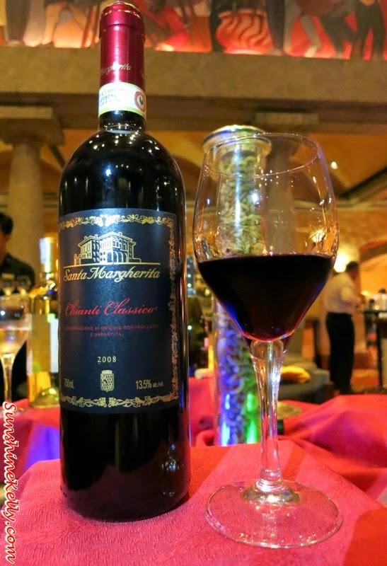 Santa Margherita Chianti Classico D.O.C.G, Santa Margherita, Chianti Classico, red wine, Italian dining Experience, Santa Margherita Wine Dinner, Villa Danieli, sheraton imperial kl, food review, food wine pairing