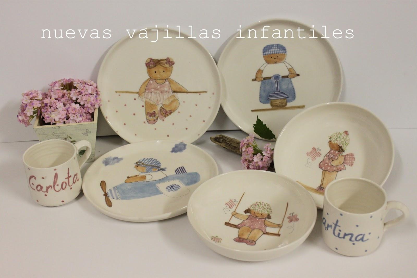 23 oct nuevos modelos de vajillas infantiles decoraci n for Modelos de vajillas