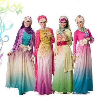 Model Busana Muslim Terbaru 2013