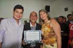"""Secretário Edvaldo Teixeira e familia:"""" Já sou filho de Serrinha com muito Orgulho"""""""