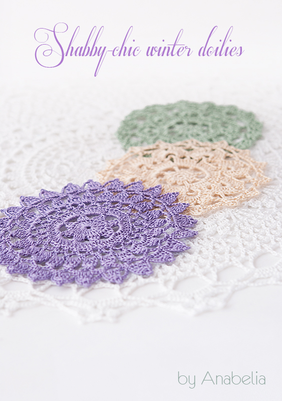 Anabelia craft design: Shabby-chic inspiration crochet doilies at ...