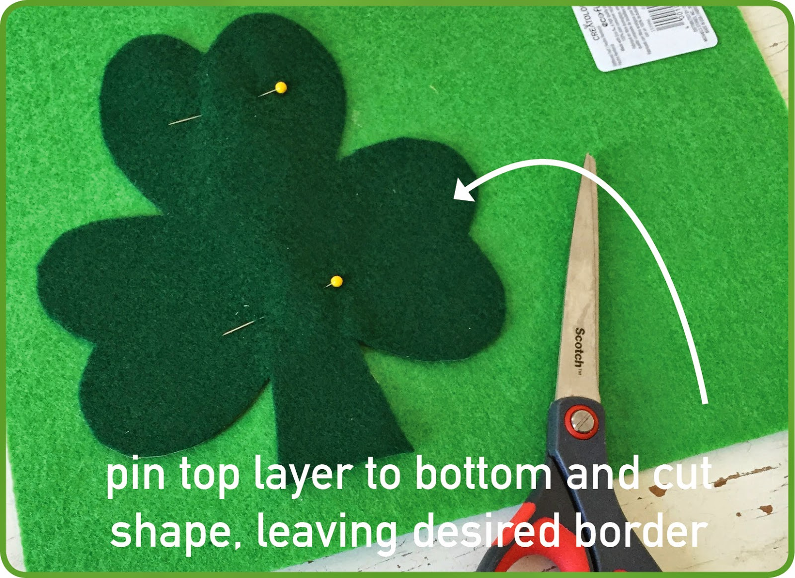 Make a Cheap St. Patrick's Day Decoration