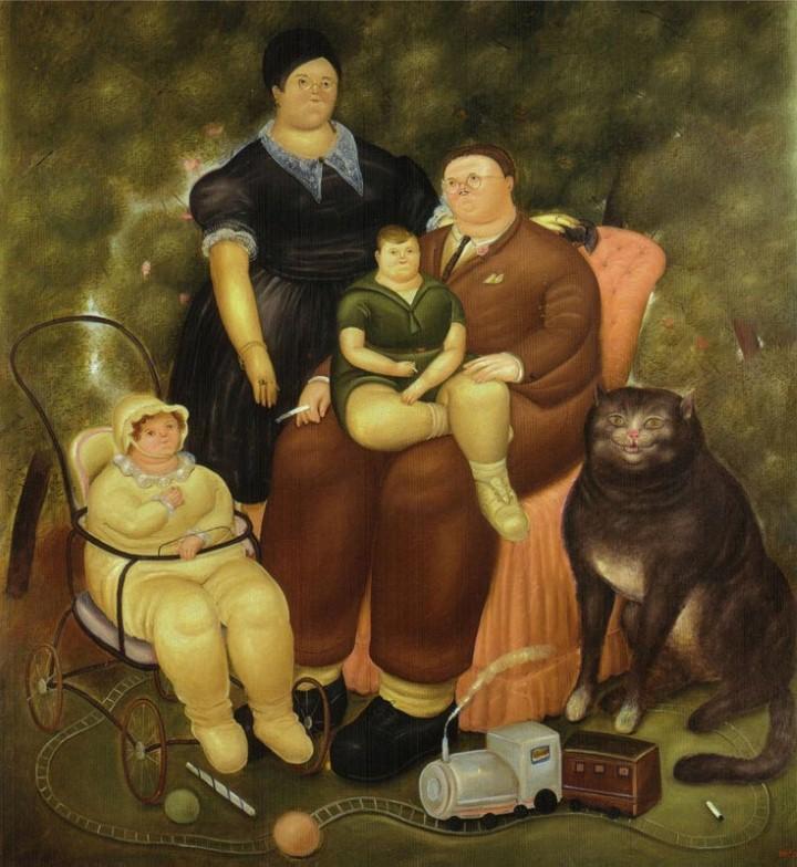 Fernando Botero, Ожиревший мир