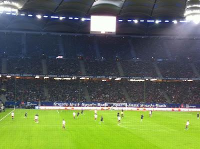 HSV Fußballspiel