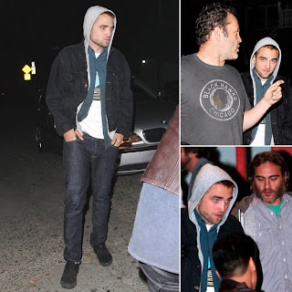 Robert Pattinson grabbed dinner with Vince Vaughn and Joaquin Phoenix
