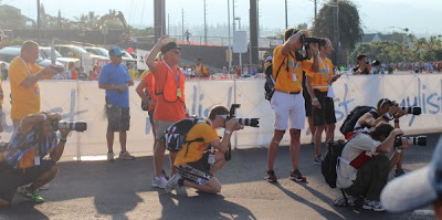 Press at Kona Ironman World Championship 2012